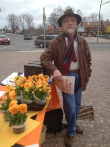 Infostand in Oranienburg
